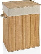 Cesto Ropa Bambú Rectangular - Trends Home