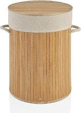 Cesto Ropa Bambú Redondo - Trends Home Selection