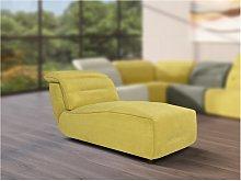 Chaise longue para sofá modular de tela SYMPOSION