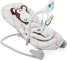 Chicco - Hamaca de bebé evolutiva Balloon Monkey
