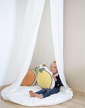 CHILDHOME Tienda dosel colgante con alfombra de