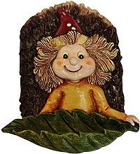 Chiyyak Pajarera para jardín, diseño de elfo,