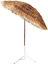 CHLDDHC Paraguas de Paja de Playa,Sombrilla de