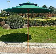 CHLDDHC Sombrilla de jardín de Doble Techo para