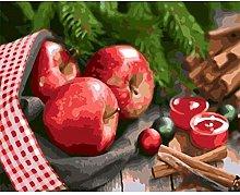 CHXFit Colorear digital pintura al óleo fruta