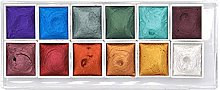 Cicony Set de Pintura de Acuarela perlada