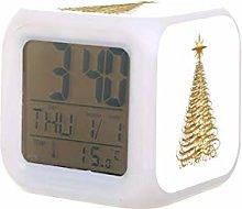 Cinta de oro árbol de Navidad Led Digital