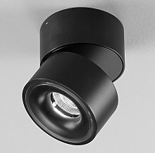 Clippo - foco LED negro de aluminio, regulable
