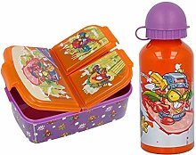 CM Set Botella de Agua de Aluminio Infantil con