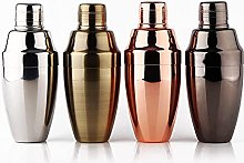 Coctelera premium en espejo plateado/cobre (oro