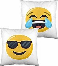 Cojín Con Relleno Emoji Face With Tears Of Joy