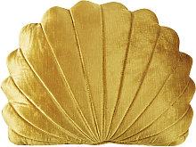 Cojín concha dorado 30x40