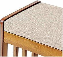 Cojín de madera acolchado de espuma para banco de