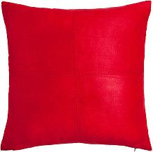 Cojín de Navidad rojo 60x60