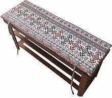 Cojín de suelo de tatami, con lazos de fijación,