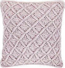 Cojín decorativo 45x40 cm rosa KIZKALESI