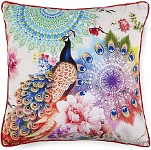 Cojín decorativo BENGTA 48x48 cm - Multicolor -