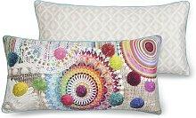 Cojín decorativo INESSA 30x60 cm - Multicolor -