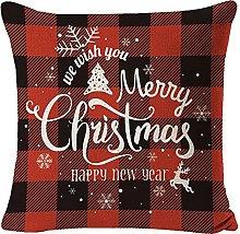 Cojín Decorativo navideño para Sala de Estar,