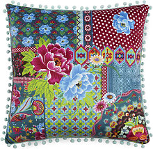 Cojín decorativo PEONIA PATCH 48x48 cm -