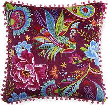 Cojín decorativo PHOENIXK 48x48 cm - Multicolor -
