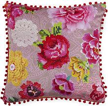 Cojín decorativo WOODSTOCK 48x48 cm - Multicolor