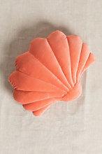 Cojín en Terciopelo Perly Coral Sklum