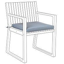Cojin para silla SASSARI azul