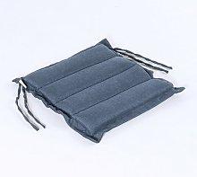 Cojín para sillas de jardín Olefin color azul  
