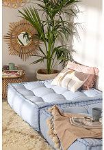 Cojín para Sofá Modular en Algodón Yebel Azul