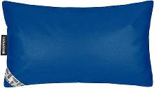 Cojín Polipiel Indoor Azul 50x30 Azul - Happers