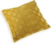 Cojín relleno dorado (45 x 45 cm) Rogal