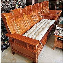 Cojín suave para silla de 2 a 3 plazas, 8 cm de
