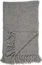Colcha de lana gris Arthur