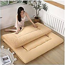Colchón de futón plegable japonés, grueso de