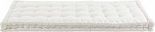 Colchón gaddiposh de algodón color crudo 90x190