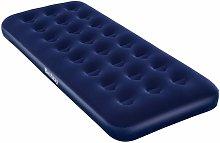 Colchón Hinchable Terciopelo 185x76x22 cm - Azul