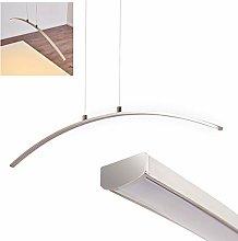 Colgante LED metal satinado Vidsel - comedor -
