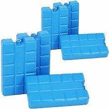 com-four® 6X Paquetes de Hielo en Azul -