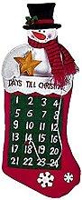 Comarco Sa 12118 - Calendario de Adviento, paño,