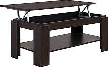 COMIFORT Mesa de Centro Elevable - Mueble con