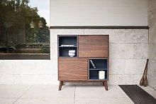 Cómoda de madera de estilo vintage Cassi
