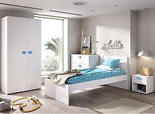Completa habitación Juvenil incluye; Cama ,
