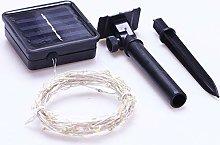 Comtervi - Guirnalda luminosa solar con 8 modos