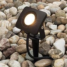 Con anclaje - foco proyector LED Bolton 10 W