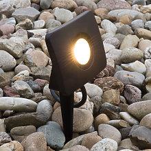 Con anclaje - foco proyector LED Bolton 20W