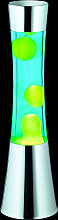 Con lava verde: lámpara de lava Jarva