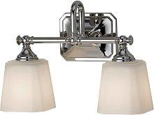 Concord - lámpara de espejo y de baño de 2 brazos