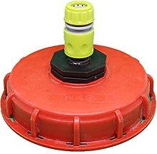 Conector de inyección de agua para tapa de tanque