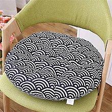 Conjunto de 2 cojines de silla redonda Cojín de